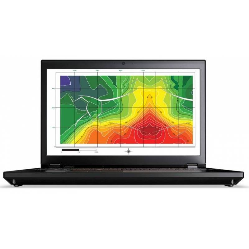 "Lenovo ThinkPad P71 Nero Workstation mobile 43,9 cm (17.3"") 1920 x 1080 Pixel Intel® Core™ i7 di settima generazione i7-7700HQ"