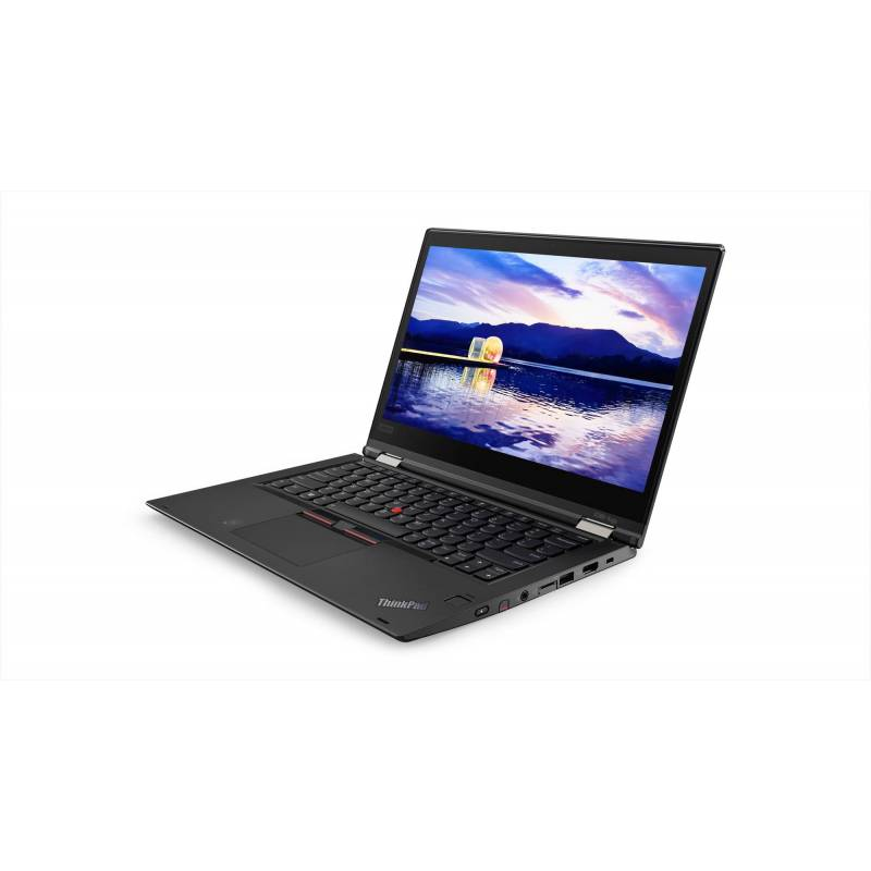 "Lenovo ThinkPad X380 Yoga Nero Ibrido (2 in 1) 33,8 cm (13.3"") 1920 x 1080 Pixel Touch screen Intel® Core™ i7 di ottava"